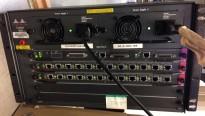 Cisco 5000-serie med supervisor, dual PSU og 2 WS-X5213A kort, brukt - NEDSATT PRIS