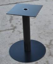 Understell til møtebord i sortlakkert metall, solid og tung søylefot, NY/UBRUKT