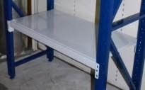 Hylleplate / bærejern til mini pallereol, 110,5x60cm, NY / UBRUKT