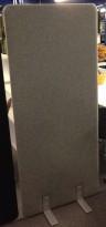 Skillevegg i grått, 80cm bredde, 180cm høyde, NY/UBRUKT