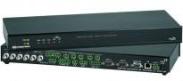 Av-kontroller fra Crestron, MP2E for 1U Rack, samt CT-1550 Touch-controller, pent brukt