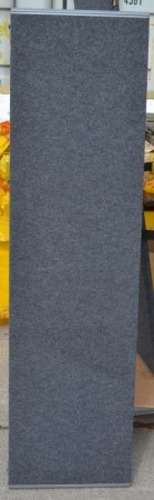 EFG Bordskillevegg Mørk grå. 180x48cm