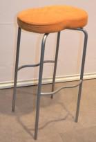 Bönan barkrakk fra Materia, orange microfiber sete, pent brukt