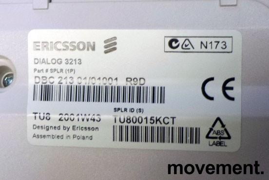 Ericsson Telefonapparat for MD110 telefonsentral, Dialog 3213 (Bred versjon), brukt bilde 3