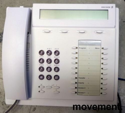 Ericsson Telefonapparat for MD110 telefonsentral, Dialog 3213 (Bred versjon), brukt bilde 2