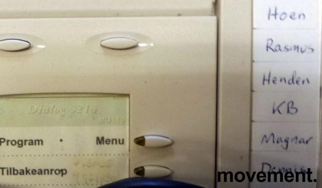 Ericsson Sentralbordapparat for MD110 telefonsentral, Dialog 3213 (Bred versjon med sidepanel), brukt bilde 2