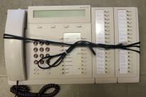 Ericsson Sentralbordapparat for MD110 telefonsentral, Dialog 3213 (Bred versjon med sidepanel), brukt