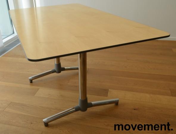 NEXT kompakt møtebord / kantinebord i bjerk fra ForaForm, 140x80cm, pent brukt bilde 1