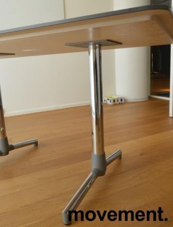 NEXT kompakt møtebord / kantinebord i bjerk fra ForaForm, 140x80cm, pent brukt bilde 3