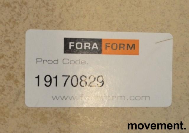 NEXT kompakt møtebord / kantinebord i bjerk fra ForaForm, 140x80cm, pent brukt bilde 4