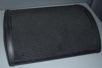 Håg Quickstep fotvipp/fotskammel i sort/grått, pent brukt