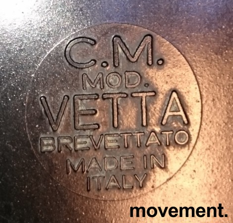 Vintage baderomsmøbel / speilskap fra 60-tallet, CM Mod Vetta Brevettato, Italy bilde 3