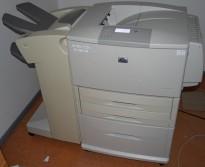 Stor nettverkslaser fra Hewlett-Packard, Laserjet 9040dn, kun gått ca 436.000 sider, KUPPVARE!