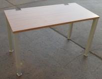 Kompakt skrivebord i valnøtt fra König Neurath, 120x60cm, pent brukt