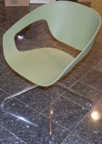 Morsomme loungestoler / besøksstoler i oliven-farge / mørk grønn, VAD-Chair by Casamania/Frezza, Fotkryss, pent brukt