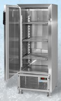 Kjøleskap i rustfritt stål fra KylCity/Edco, modell CKA-300, UBRUKT