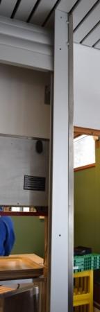 Rullegitter, elektrisk, 740cm bredde, for kantine eller bardisk, pent brukt bilde 8
