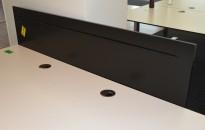 Bordskjerm / Bordskillevegg, Horreds LINK, 160cm bredde, pent brukt