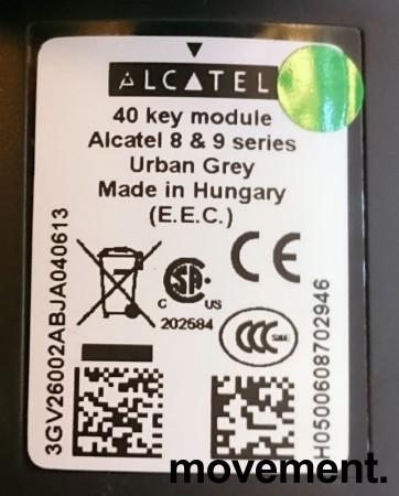 Alcatel sidepanel med 40 hurtigtaster / 40 key module Alcatel 8 and 9-series, pent brukt bilde 2