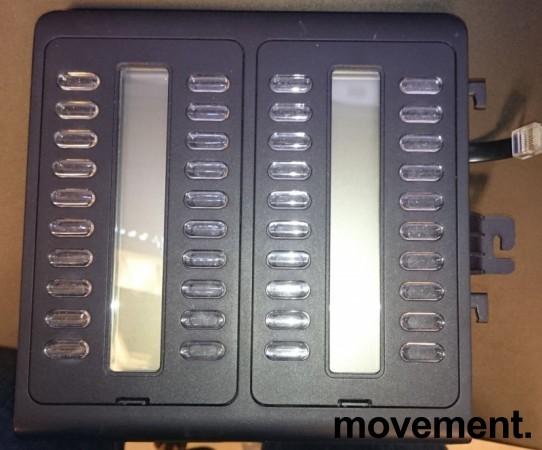 Alcatel sidepanel med 40 hurtigtaster / 40 key module Alcatel 8 and 9-series, pent brukt bilde 1