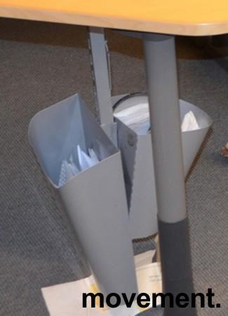 Papirkurv for montering under skrivebord, pent brukt bilde 1