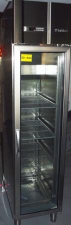 Infrigo AGN300CR, smalt kjøleskap for storkjøkken, med glassdør, 48cm bredde, pent brukt bilde 2