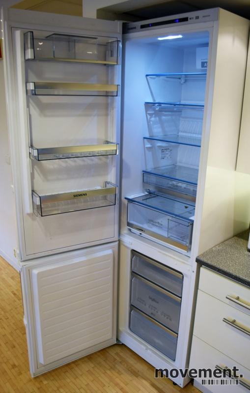 Forskjellige Siemens A+++ kombiskap / kjøleskap medfryser, 201cm høyde EI-03
