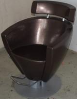 Frisørstol / barberstol med justerbar høyde, AGV Group, Italia, pent brukt