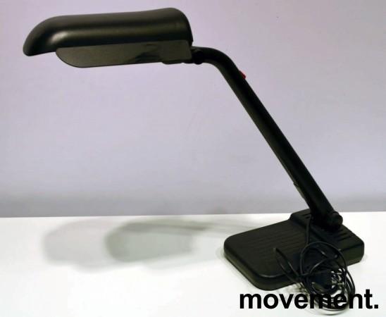 Lival Shuttle Plus, skrivebordslampe i sort, pent brukt bilde 1