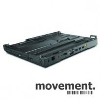 Docking til Lenovo bærbar PC, X200 Ultrabase, med lader pent brukt