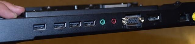 Docking til Lenovo bærbar PC, Ultrabase series 3, med lader pent brukt bilde 2