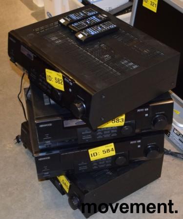 Kenwood KRF-V5050D surround receiver, pent brukt bilde 2