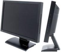 Flatskjerm til PC, Benq FP202W. 20toms Widescreen, 1680x1050, VGA, pent brukt