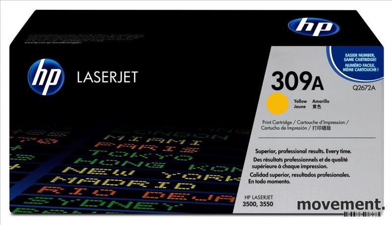 Original HP Toner Q2672A 309A til HPColor LaserJet 3500