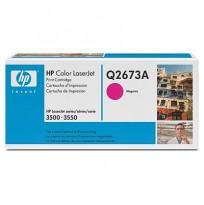 Toner til HP Color LaserJet 3500/3550 - Q2673A / 309A, Magenta/Rød, ORIGINAL/ UBRUKT