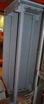 Rittal rackskap fullhøyde for patch / nettverk etc, 80cm dybde,pent brukt