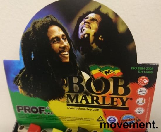 Lightere med Bob Marley-motiv, 50stk i sjokkselger, NY/UBRUKT bilde 3