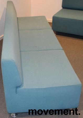 loungesofa designsofa fra cappellini design jasper morrison turkis stoff 210cm bredde pent. Black Bedroom Furniture Sets. Home Design Ideas