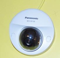 Overvåkningskamera, IP-basert POE, Panasonic WV-SF135, 1280x960, dome, pent brukt