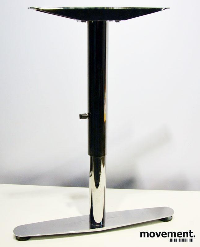 Enorm T-føtter / Lekre bordben i krom, forskrivebord / møtebord BG-39