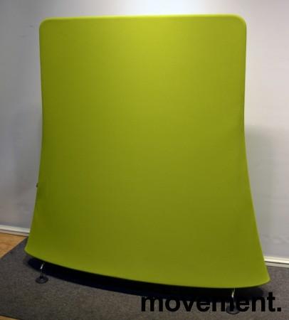 Vitra Mobile Elements Screen, i limegrønn og krom, høyde 162cm, 160cm bredde, pent brukt bilde 8