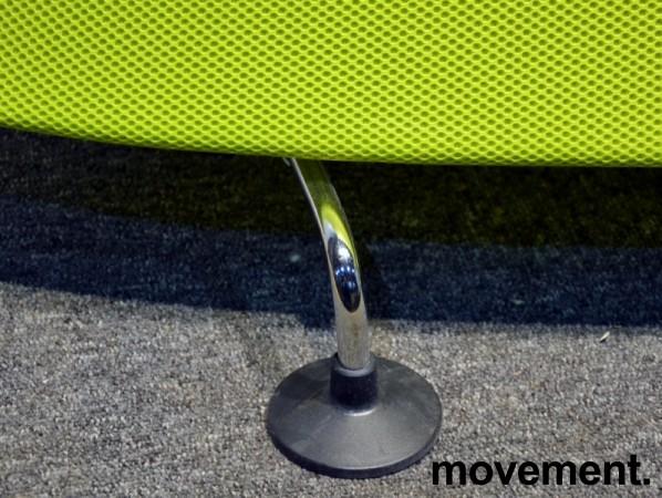 Vitra Mobile Elements Screen, i limegrønn og krom, høyde 162cm, 160cm bredde, pent brukt bilde 5