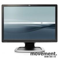Flatskjerm til PC. Hewlett-Packard 22toms widescreen, modell L2245wg, 1680x1050, VGA/DVI, pent brukt