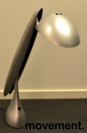 Luxo Heron skrivebordslampe i grått, Design: Isao Hosoe, pent brukt bilde 2