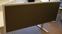 Bordskillevegg / pultskillevegg fra Duba B8 i mørk grå, 160cm bredde, 60cm høyde, pent brukt