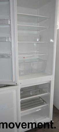Wilfa RF360 kombiskap i hvitt, høyde 191cm, brukt bilde 2