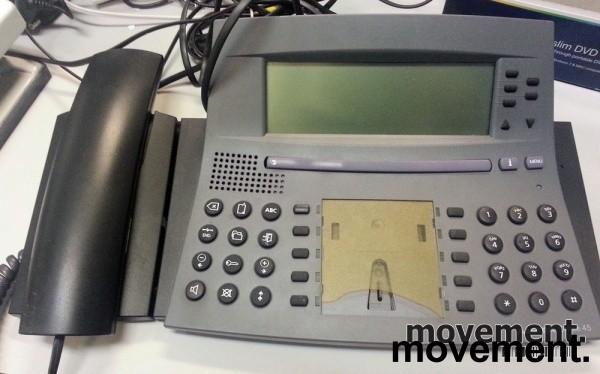 Telefonapparat for sentral: Aastra Office 45 i antrasittgrå, pent brukte bilde 2