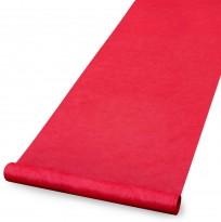 Rød løper, bredde 136cm, pris pr løpemeter, pent brukt