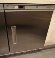 Tecfrigo PL201NTX fryseskap / fryser, 60cm b, underbenk 85,5cm h,  i rustfritt stål, pent brukt