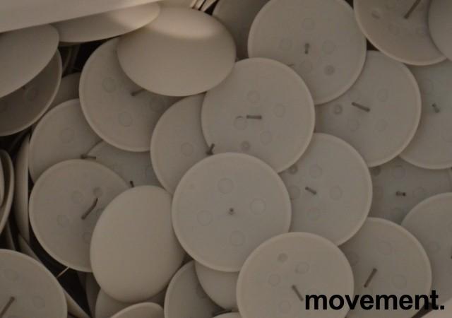 Alarmportal / alarmantenne Checkpoint Classic Style i hvit plast / plexi, høyde 155cm, alarmer følger med, pent brukt bilde 5